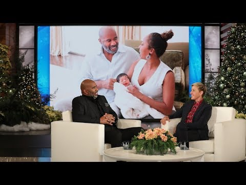 Steve Harvey Isnt As Happy As Most Grandparents