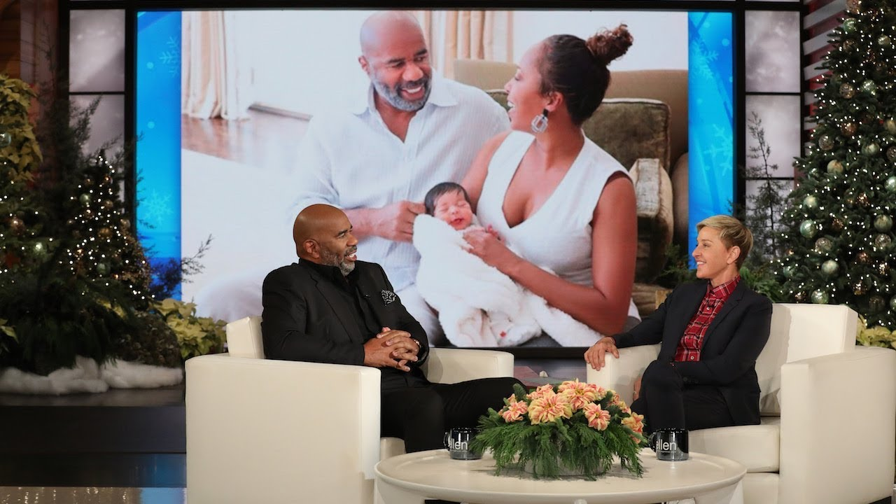 Steve Harvey Isn't As Happy As Most Grandparents