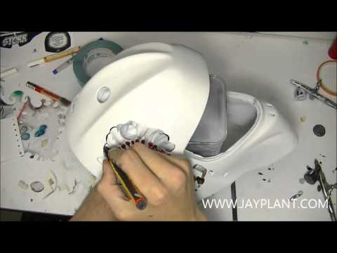 Ccm goalie mask template goalie mask supply timelapse painting on ccm goalie mask maxwellsz
