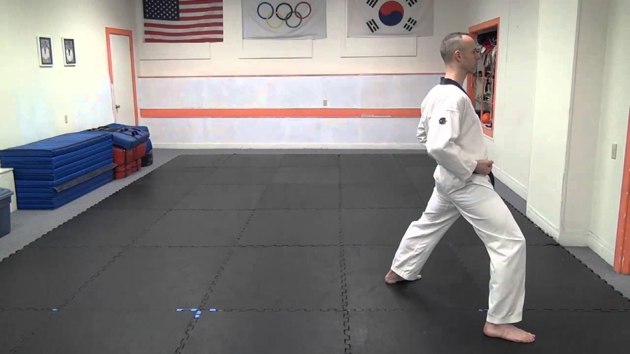 Basic Stances for TaeKwonDo