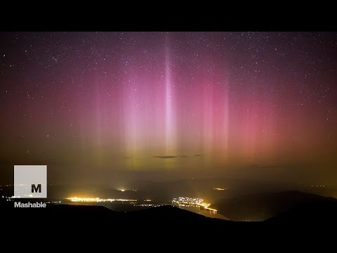 Aurora displays from all over the world, in under a minute | Mashable