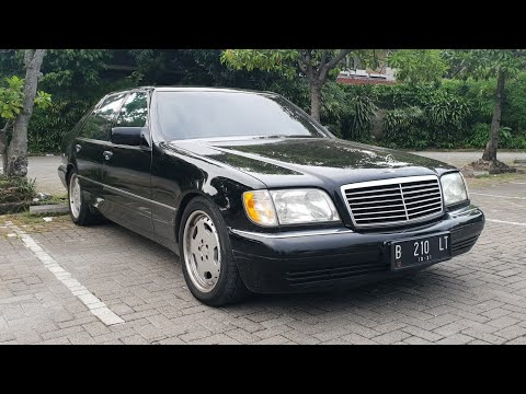 Mercedes-Benz S320 [W140] 1996 In Depth Review Indonesia