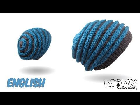 Crochet hat - Worm Beanie