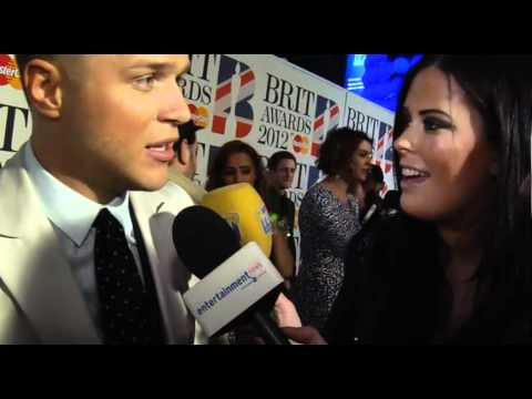 Olly Murs interview at The Brit Awards 2012