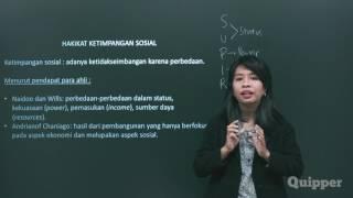 Gambar cover Quipper Video - Sosiologi - Ketimpangan Sosial [SMA]