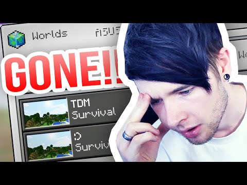 Thumbnail: Minecraft Pocket Edition | I LOST MY WORLD...