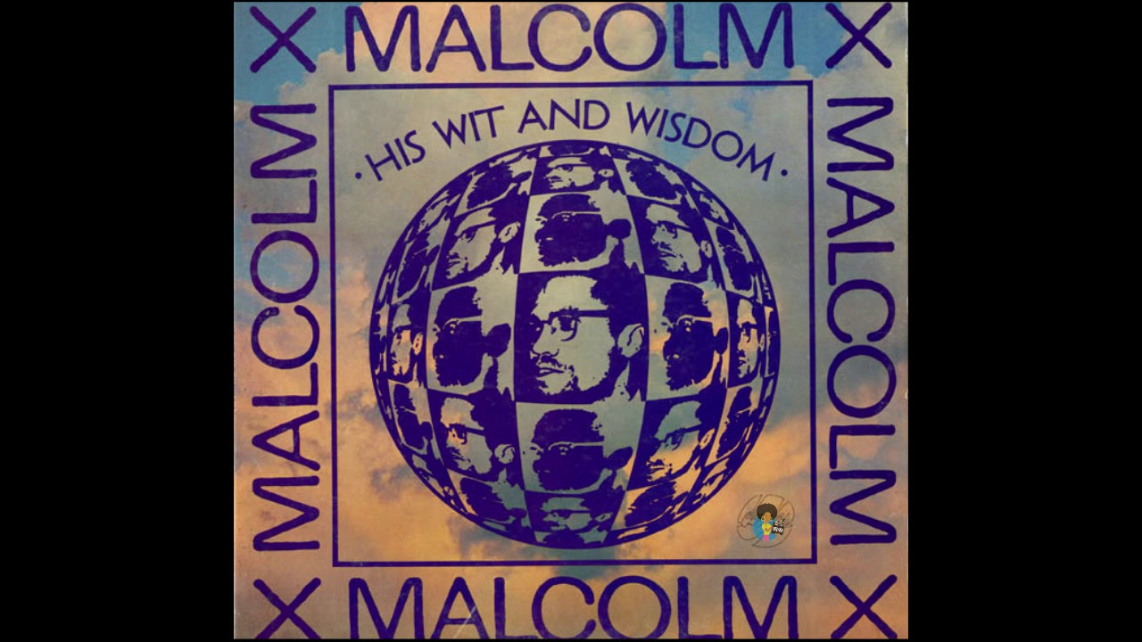 Malcolm X: His Wit and Wisdom (1969) | Best Speeches OOP LP