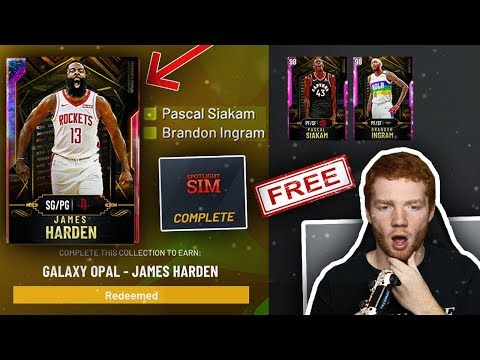 HOW TO GET *FREE* GALAXY OPAL JAMES HARDEN! FAST & EASY SPOTLIGHT SIM TIPS!! (NBA 2K20 MYTEAM)