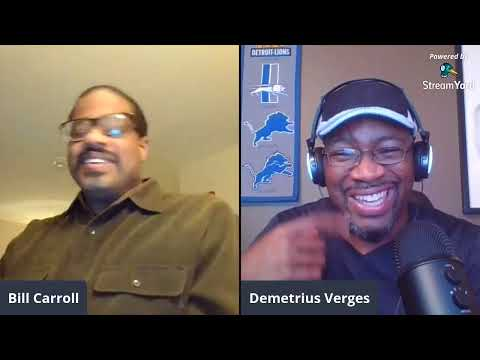 Detroit Mock And Between The Black And White Lions With Demetrius Verges