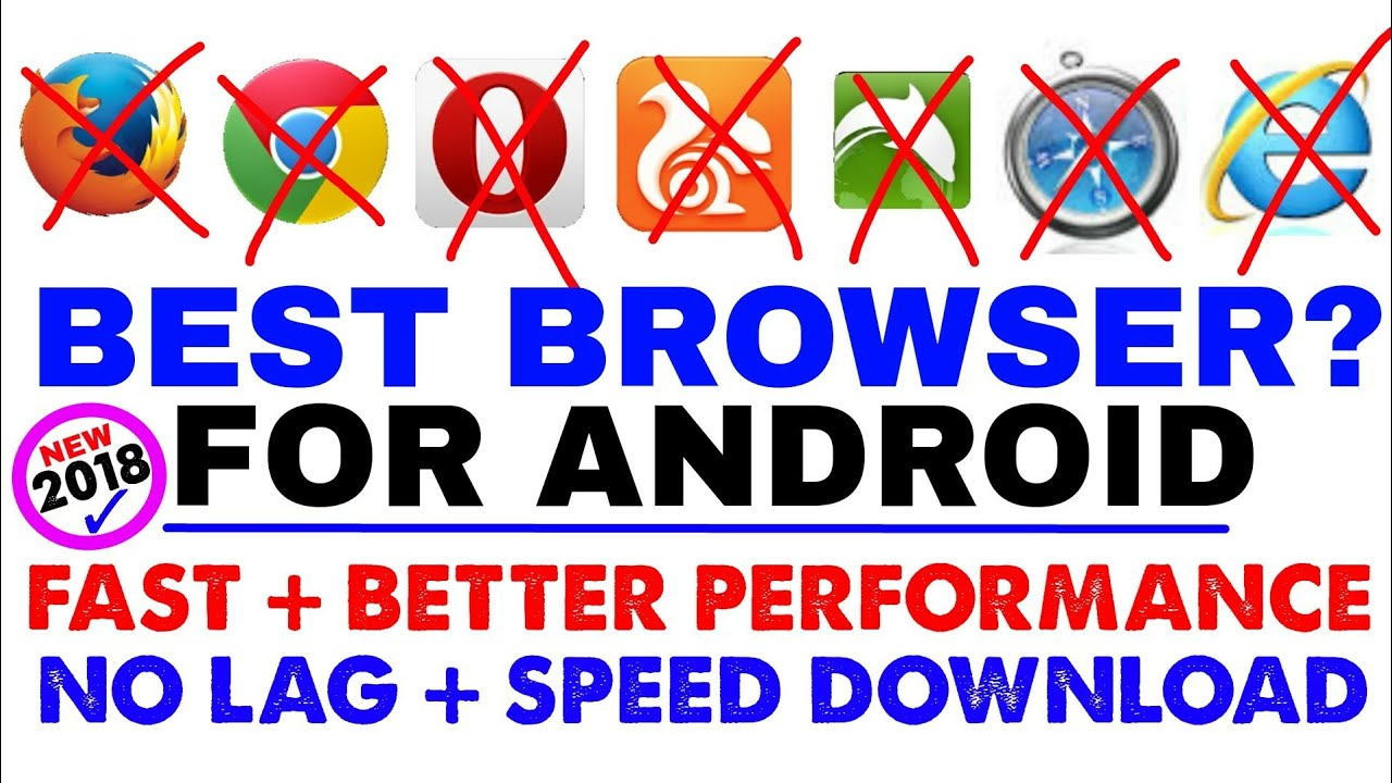 Best Fastest Browser For Android ✓ 100% Tested With All Popular Browser 2018