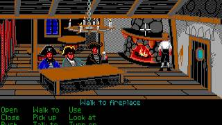 The Secret of Monkey Island (EGA 16-color) Walkthrough