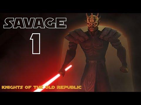 Star Wars: KOTOR | Part 1 | Savage Opress the First