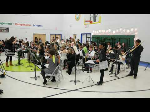 East Arbor Academy Band & Choir Winter Concert 2017- 6-7 and 8th Band Finale