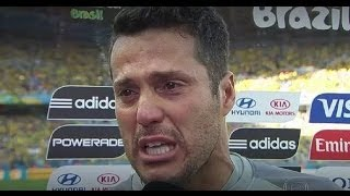 Julio César Interview after Brazil vs Germany 1-7 [World Cup 2014]