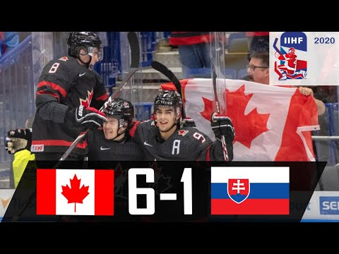 Canada vs Slovakia | 2020 WJC Highlights | Jan. 2, 2020