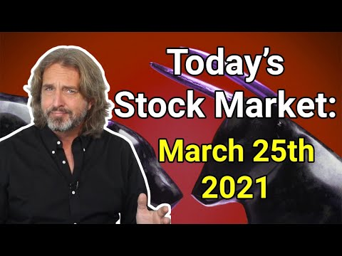Stock Market Today | March 25, 2021