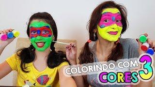 DESAFIO COLORINDO COM 3 CORES LADYBUG E UNICÓRNIO (3 MARKER CHALLENGE)   Luluca
