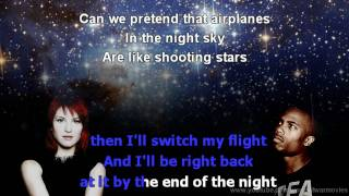 B.o.B - Airplanes ft. Hayley Williams of Paramore (instrumental) Full HD