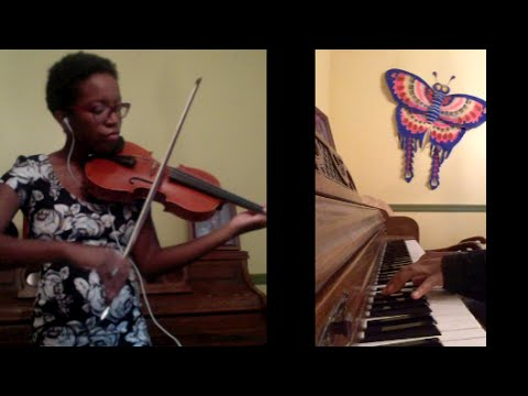 THE JUNGLE BOOK Piano/Violin Cover - Theme from Overture