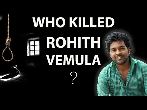 Who killed Rohit Vemula - Was it a suicide or a murder by society, Dalit uprising in India, NEWSROOM