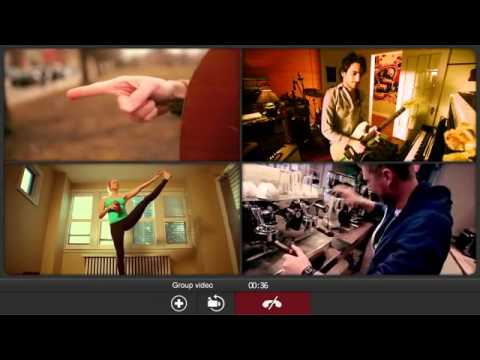 Fring Group Video Chat Web Application Promotion Video