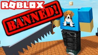 SCRIPT FIGHTING IN ROBLOX (THE PERMA BANNED GAME)