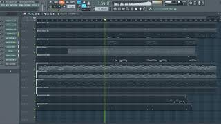 Ласковый май - Зимняя ночь (Пусть будет ночь) FL Studio