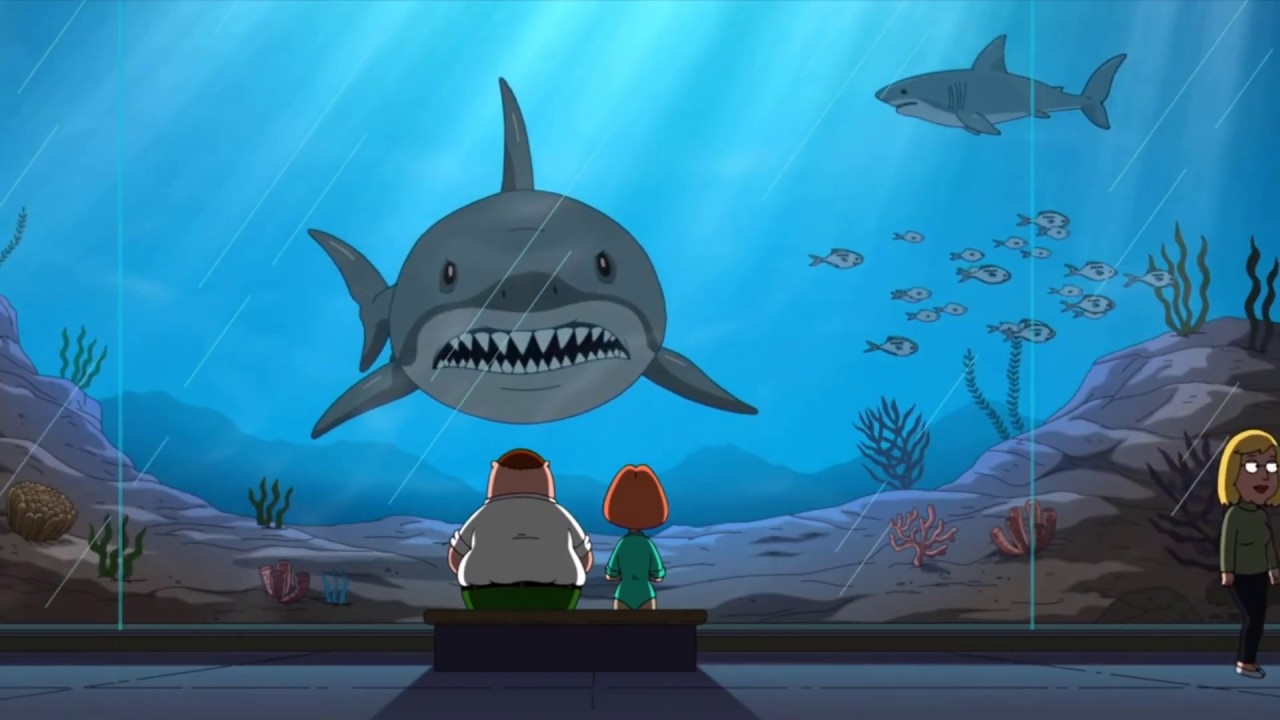 When You're High At The Aquarium | Family Guy - YouTube