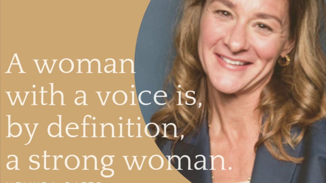 Famous Women Quotes - Women Empowerment - YouTube