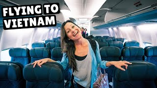 Flying from Australia to Vietnam (travel and relationships)