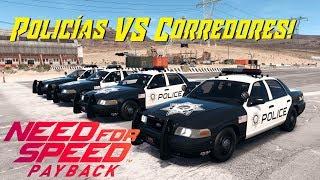 NFSPayback  - Policias VS Corredores [DIRECTO]