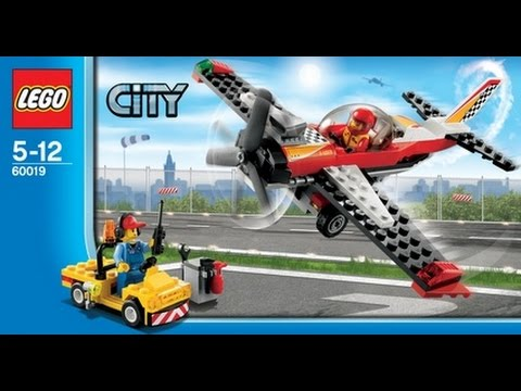 Lego Plane Stunt Plane 60019 Youtube