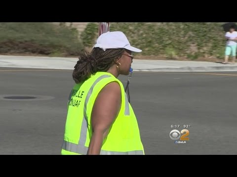 Parents In Moreno Valley Frustrated By City's Decision To Phase Out Crossing Guards