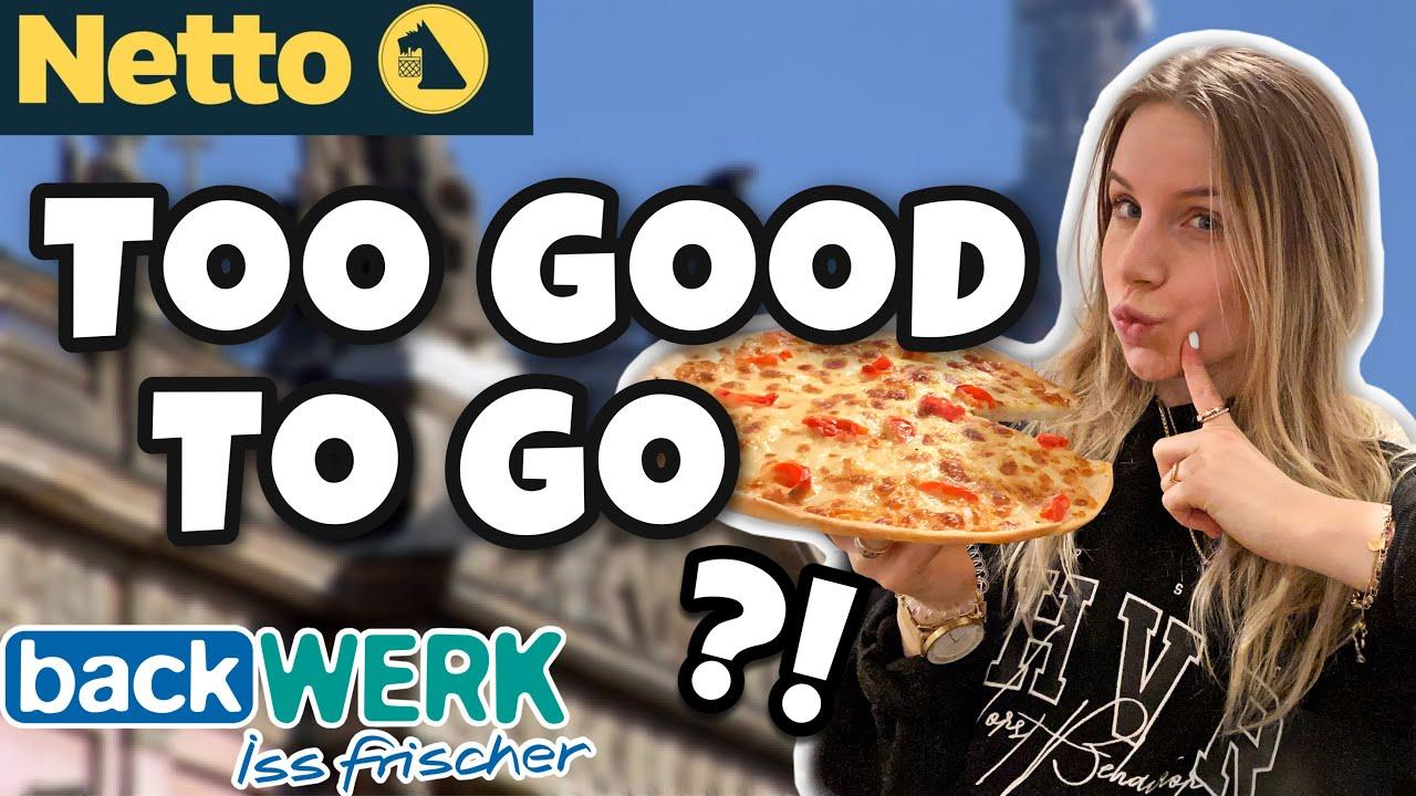"""GEEEIL?! 🤩 Ich TESTE 1 Woche die App """"Too Good To Go 🍰 🥨🍕"""