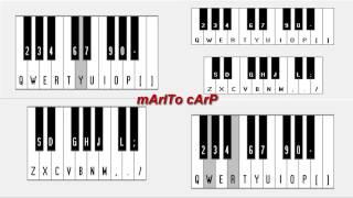 Tito y La Liga - Quedate Conmigo - Piano Electronico