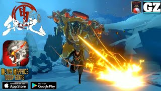 The Welkin World: REBELS - Upcoming Mobile Action RPG - NEW Gameplay Trailer