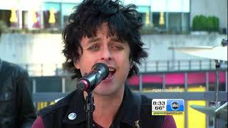 'Oh Love' - Green Day (Live from Times Square, NY at Good Morning America in 2012)(HD 1080p 60fps)