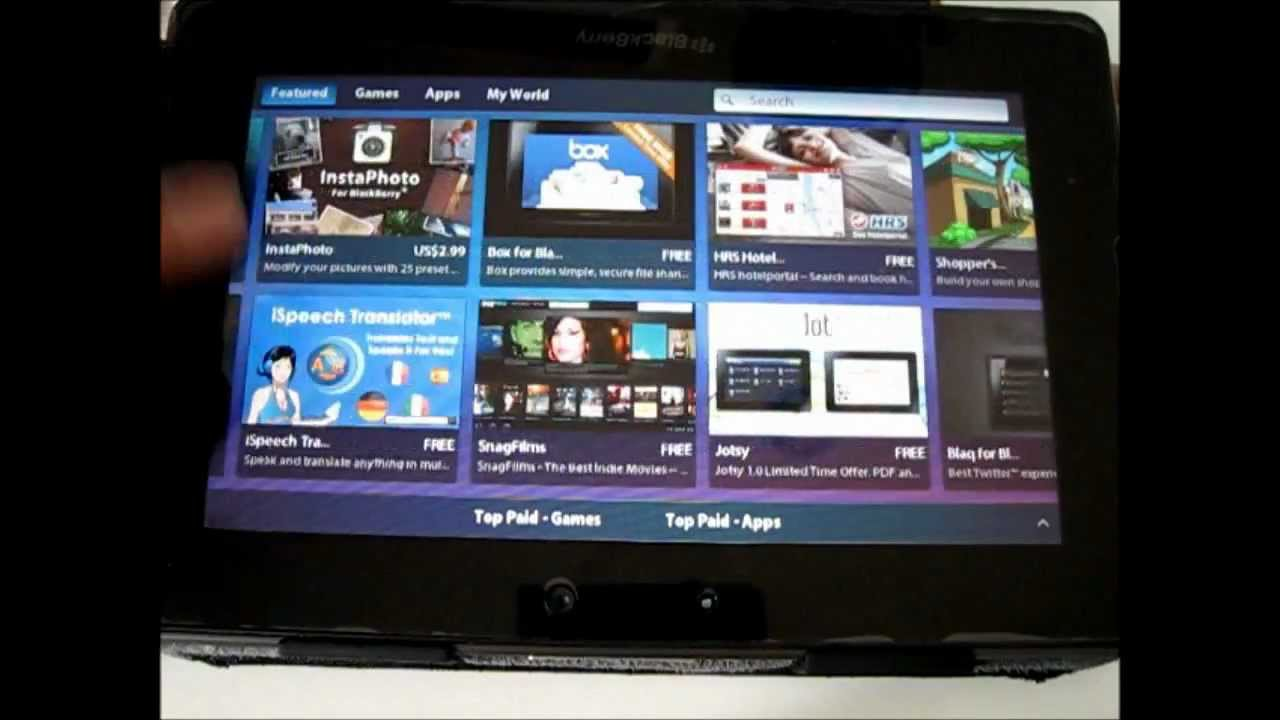 BlackBerry PlayBook OS 2.0 review | Engadget