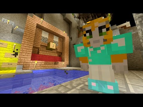 Minecraft Xbox - Cave Den - Friendship Fountain (18)