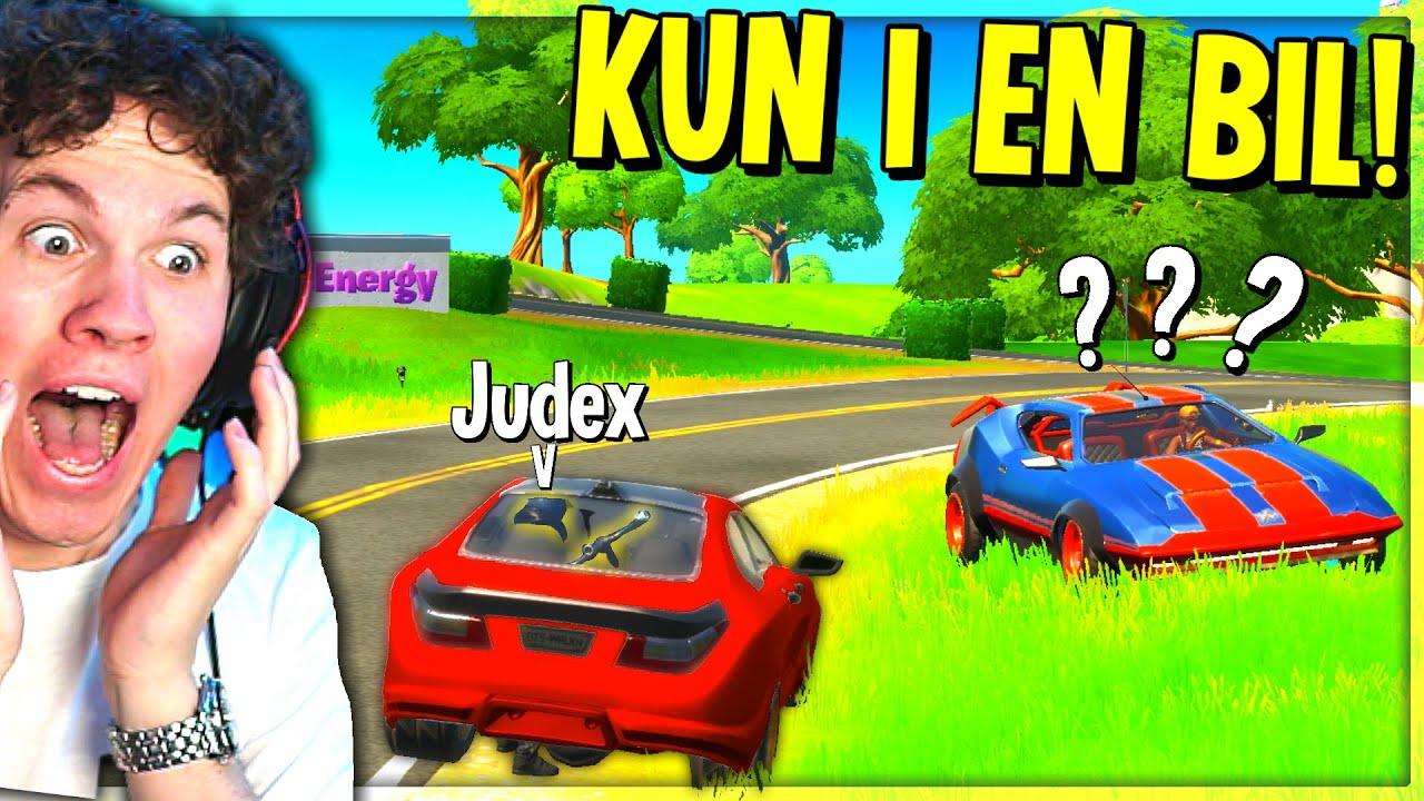 Jeg vandt i Fortnite ved KUN at være i en bil... - Dansk Fortnite