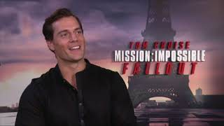 Henry Cavill - Mission Impossible interview | Newshub