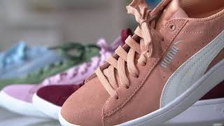 9e0d3145080 PUMA Suede Lace-Up Sneakers - Vikky Classic on QVC ...