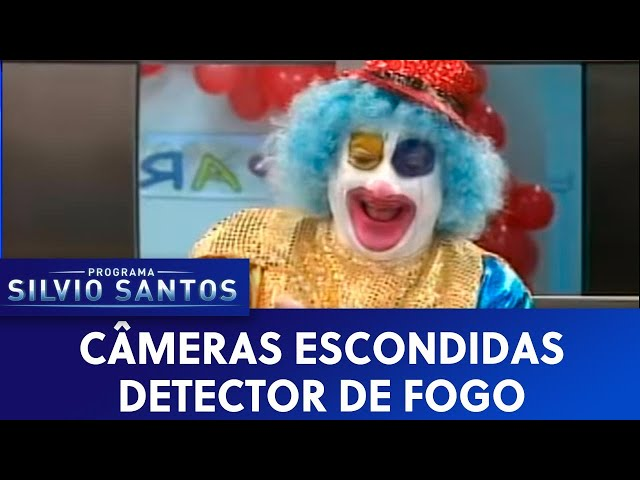 Câmera Escondida: Detector de Fogo