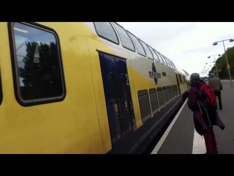 Cómo es un tren por dentro y por fuera en Europa?