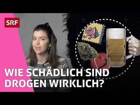 Alkohol, Cannabis Und Kokain: Wie Schädlich Ist Drogenkonsum? | Erklärt | SRF FORWARD