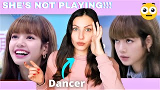 DANCER reacts to Blackpink Lisa a tough mentor in a nutshell