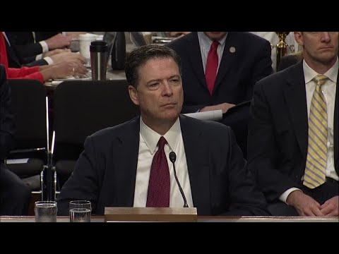 Full hearing: James Comey testifies to Senate intel committee regarding Russia-Trump