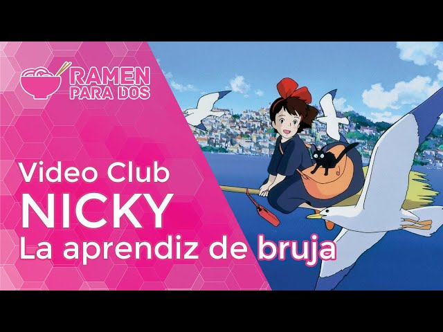NICKY APRENDIZ DE BRUJA | Vídeo club de anime