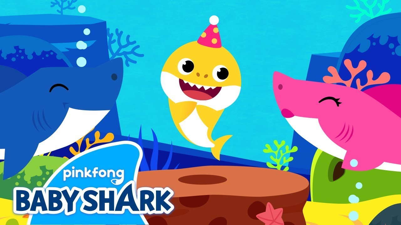 Happy Birthday Baby Shark Baby Shark S Birthday Birthday Song Sing Along With Baby Shark Youtube