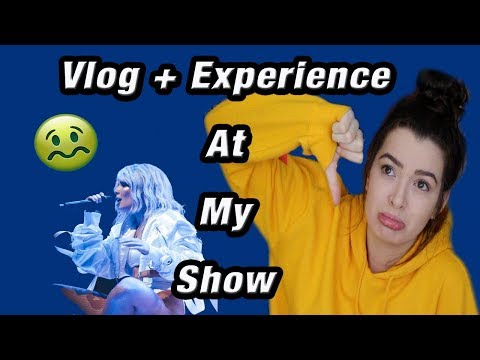 Getting SICK At My Halsey Show *Worst Experience EVER*